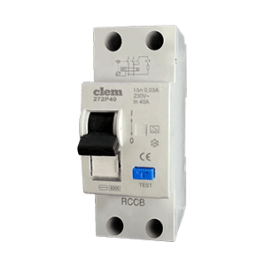 Residual current circuit breaker without overcurrent protection